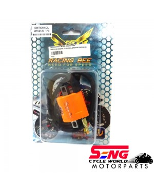WAVE125 RACING PLUG COIL-ORANGE