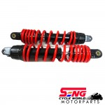 NOUVO LC REAR ABSORBER SET-RED-YSS-TD222-315MM