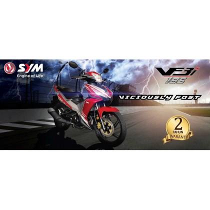 SYM VF3I 185 RACING AIR FILTER-STEEL-ESPADA