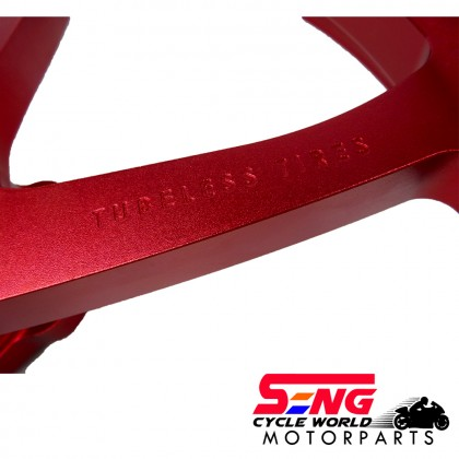 Y15 ZR SPORT RIM SET-FG525-FORGED-RED-RCB