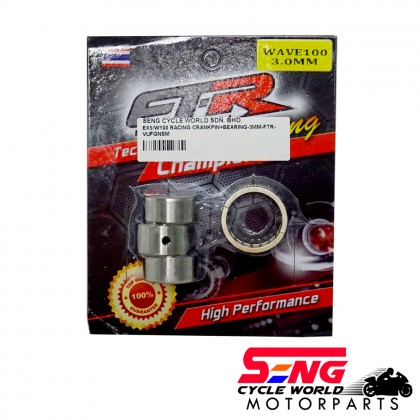 EX5/ WAVE100 RACING CRANKSHAFT PIN WITH BEARING-3 MM-FTR