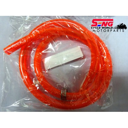 BREATH TUBE FOR BY PASS-ORANGE