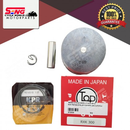RXK PISTON KITS SET JAPAN - TOP & NPR (225/ 250/ 275/ 300/ 350/ 400)