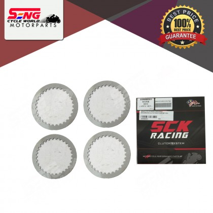 EX5/ WAVE100/ RS150/ Y15 ZR RACING CLUTCH IRON PLATE SET (SCK)